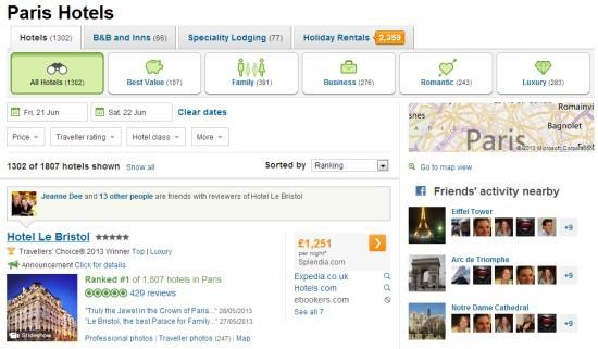 Booking khách sạn qua các trang mạng xã hội