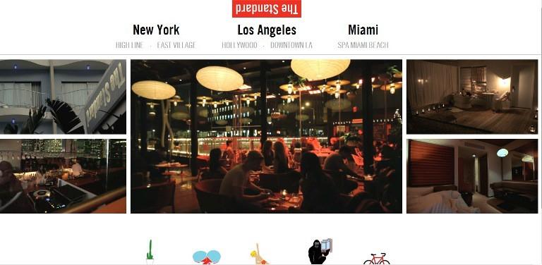 Xu hướng mới cho thiết kế website khách sạn